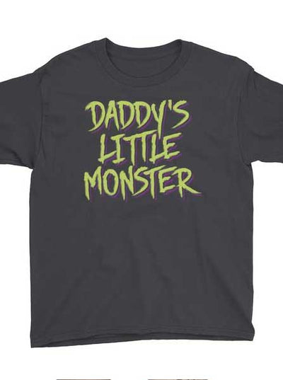Kid's Daddy's Little Monster Tee