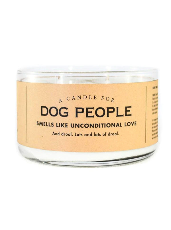 Dog People Candle