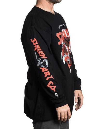 Men's Domination Long Sleeve Tee by Sullen