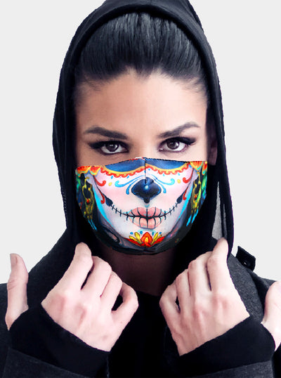 Day of the Dead Face Mask / Tube