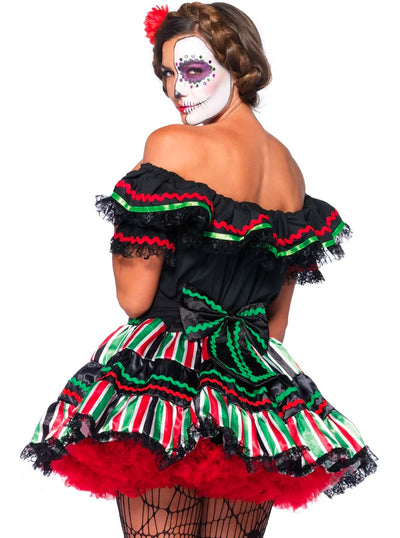 Women's Day of the Dead Doll Costume by Leg Avenue