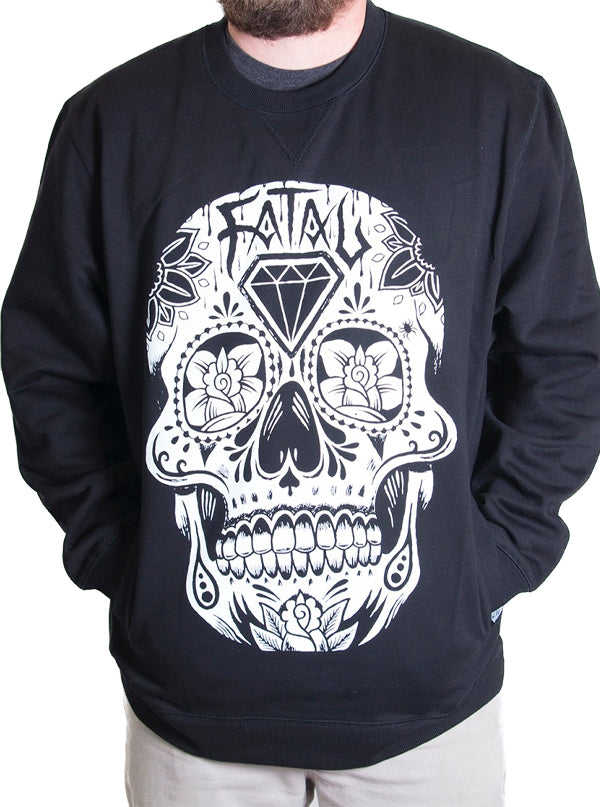 "Men's ""DOTD"" Sweatshirt by Fatal Clothing (Black)"