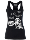 "Women's ""Whatever The Fuck I Want"" Tank by Aesop Originals (Black) - www.inkedshop.com"