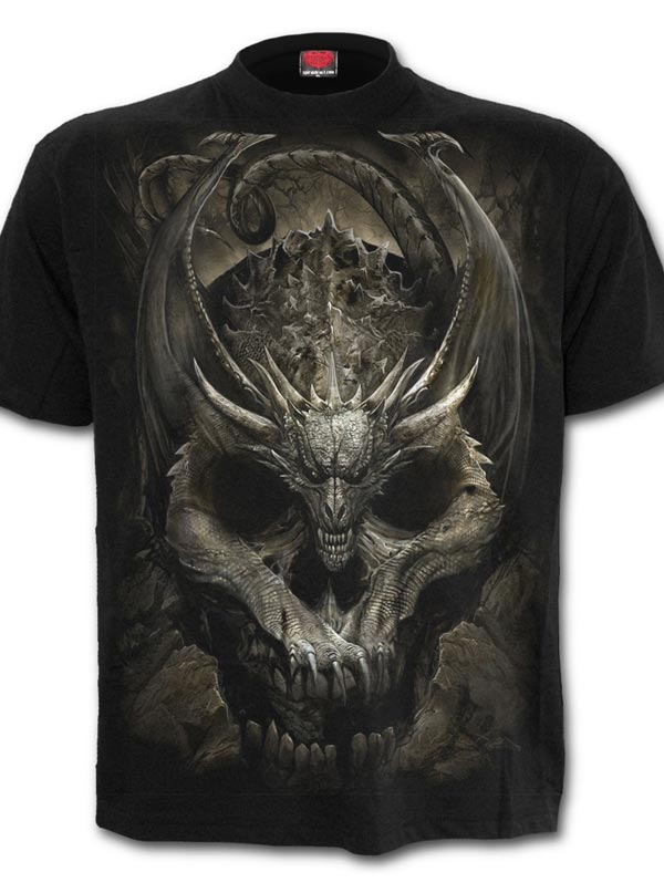 Men's Draco Skull Tee by Spiral USA