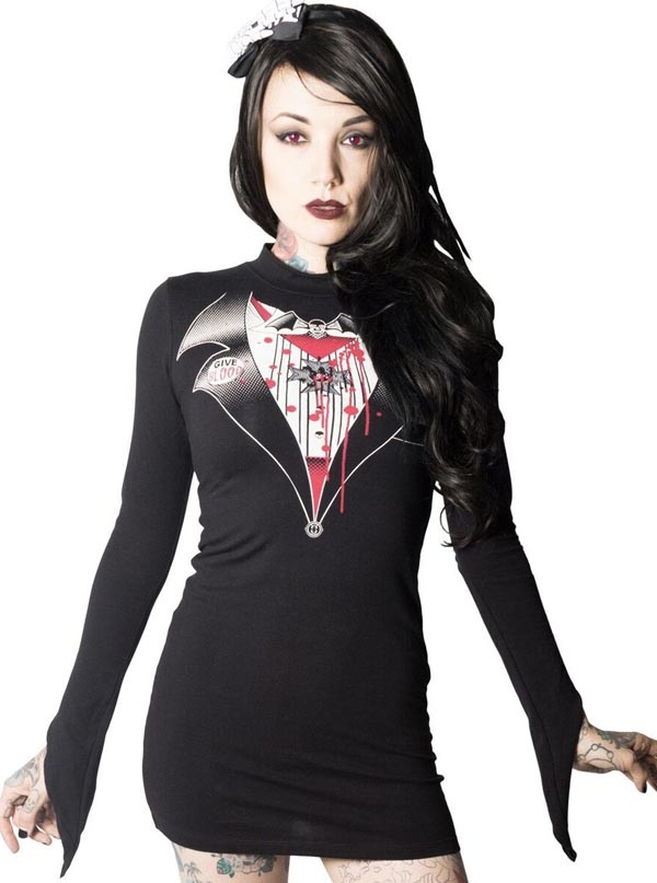 Women's Dracula Dress by Kreepsville 666