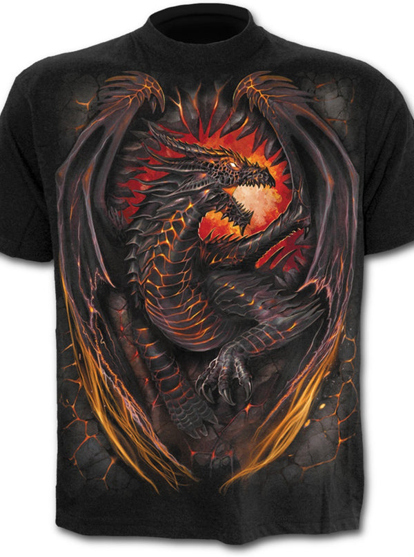 Men's Dragon Furnace Tee by Spiral USA
