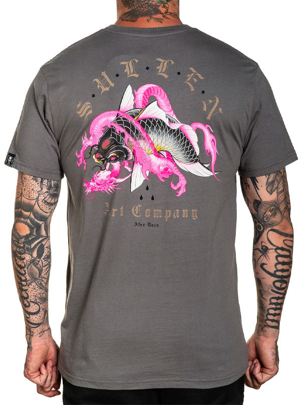 Men's Dragon Koi Tee by Sullen