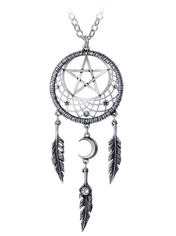 Pagan Dream Catcher Pendant by Alchemy of England