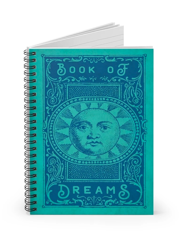 Book of Dreams Notebook by Trixie & Milo
