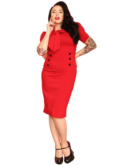 Women's Wiggle Dress by Pinky Pinups