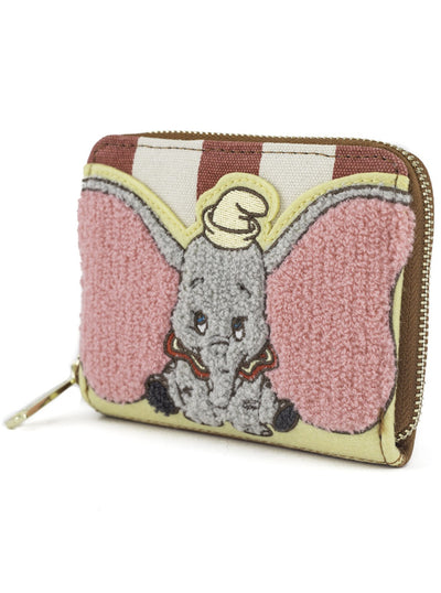 Dumbo Striped Wallet by Loungefly