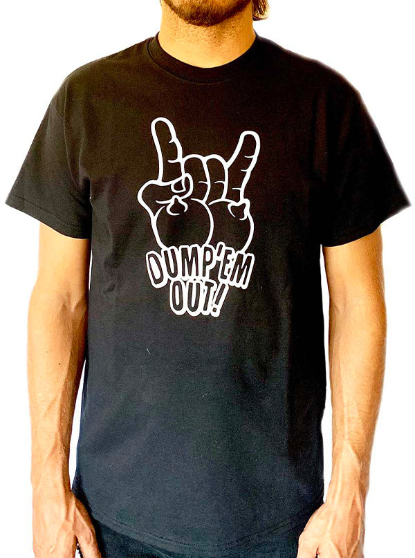 Men's Dump 'em Out Tee by Gypsy Treasures