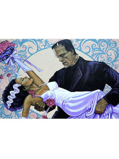 """The Wedding"" Print by Mike Bell for Lowbrow Art Company - www.inkedshop.com"
