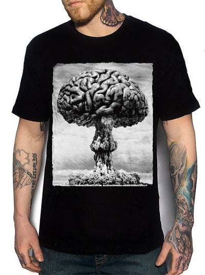 "Men's ""Einstein"" Tee by Skygraphx (Black) - www.inkedshop.com"