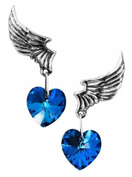 """El Corazon"" Earrings by Alchemy of England - InkedShop - 1"