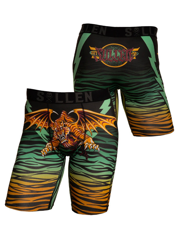 Men's Electric Tiger Boxers by Sullen