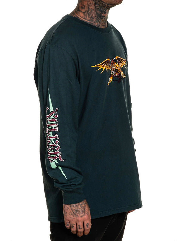 Men's Electric Tiger Long Sleeve Tee by Sullen