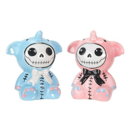 Furrybones® Elefun Salt & Pepper Shakers by Summit Collection - InkedShop - 1
