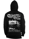 "Men‰Û÷s ""Embalming Fluid"" Zip-Up Hoodie by Se7en Deadly (Black) - www.inkedshop.com"