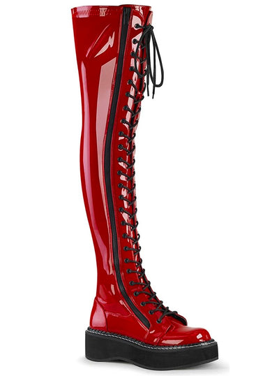 Women's Emily 375 Over-the-Knee Boots by Demonia