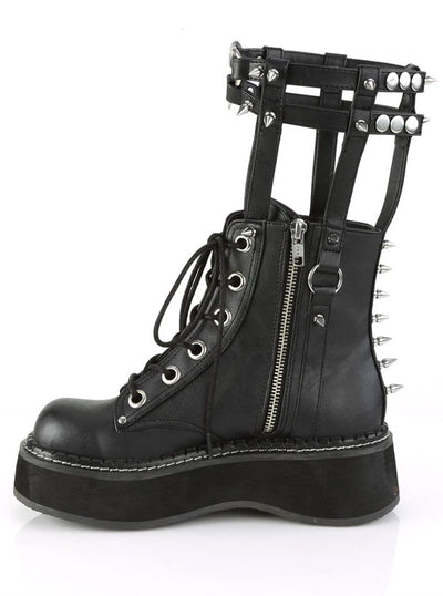 Women's Emily 357 Ankle Boots W/ Cage by Demonia