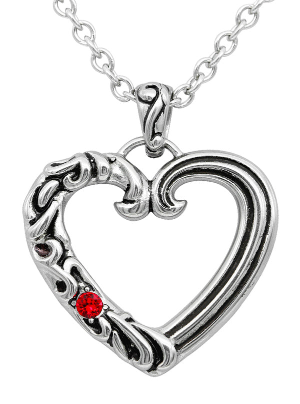 Enchanted Heart Necklace by Controse