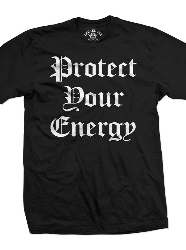 Men's Protect Your Energy Tee by Cartel Ink