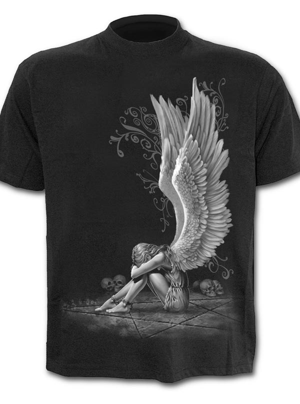 Men's Enslaved Angel Tee by Spiral USA