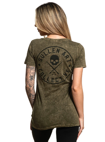 Women's Ever Badge Tee by Sullen