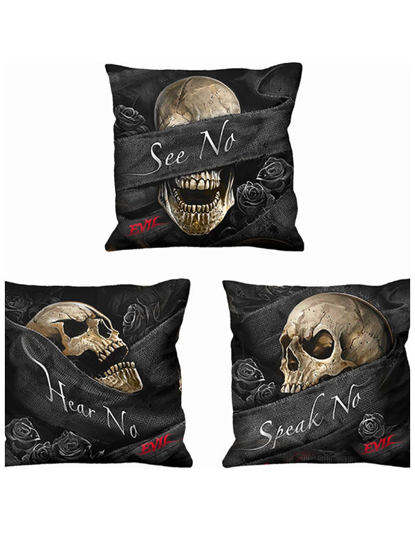See No Evil Square Cushion Set by Spiral USA