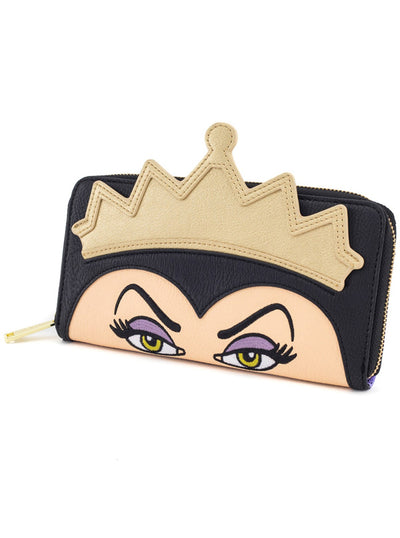 """Evil Queen"" Wallet by Loungefly (Black)"