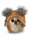 """Star Wars Ewok"" Coin Bag by Loungefly (Tan) - www.inkedshop.com"