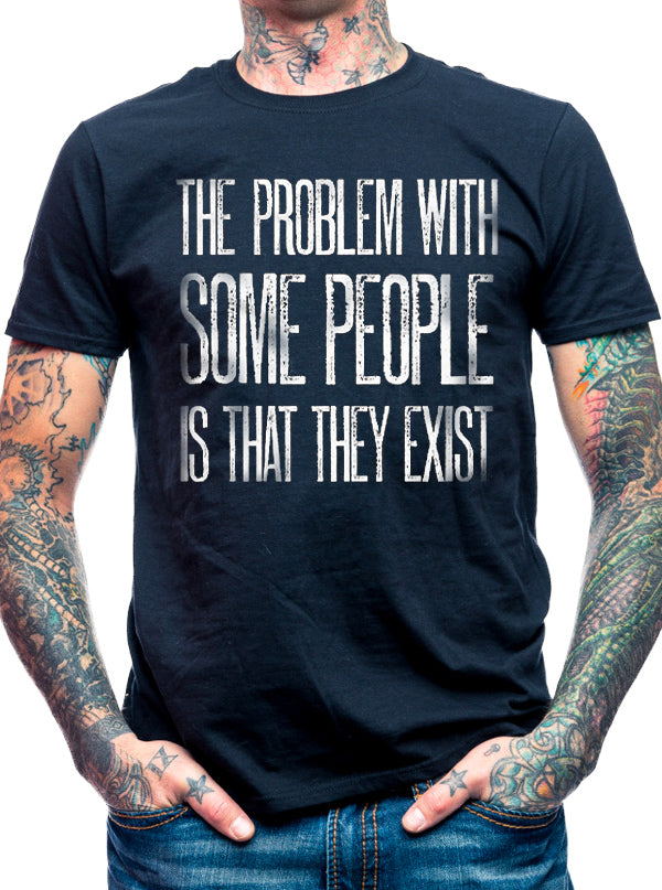 Men's The Problem With People Tee by Aesop Originals