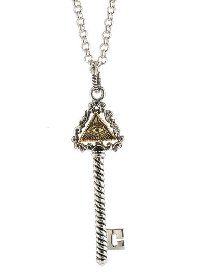 Eye of Providence Necklace by Silver Phantom Jewelry