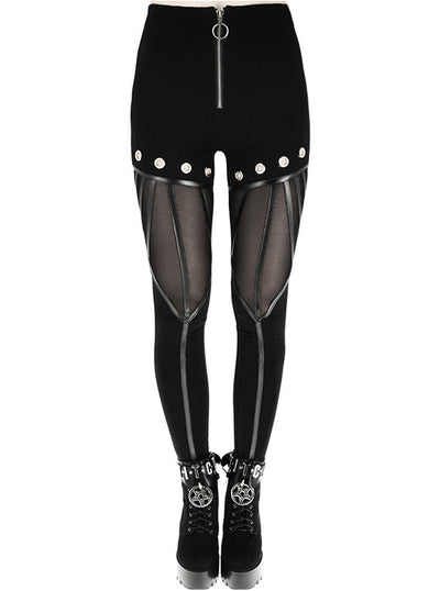 Women's Eyelets Leggings by Restyle