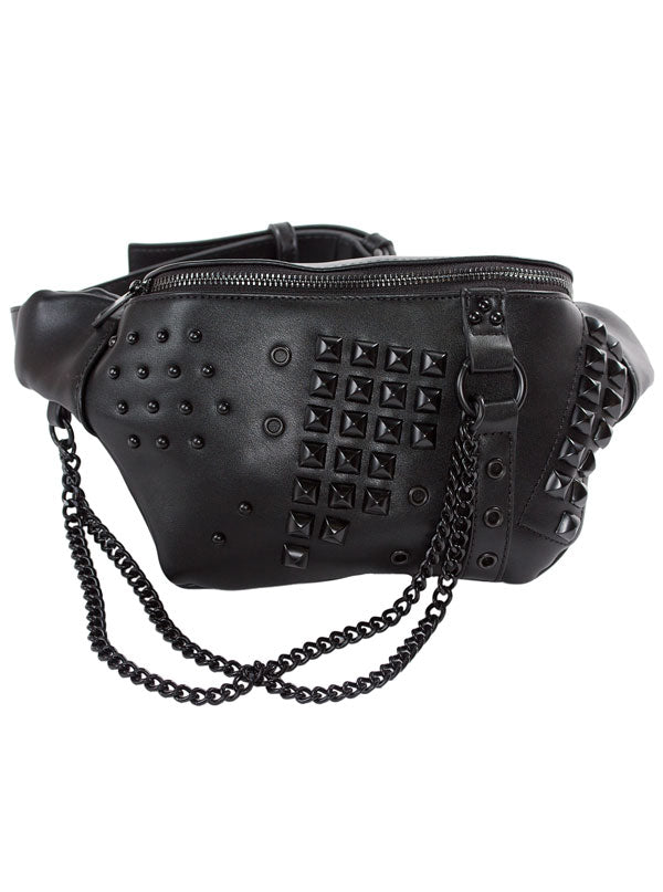 Women's Idoless Hip Pack by Sourpuss (Black)