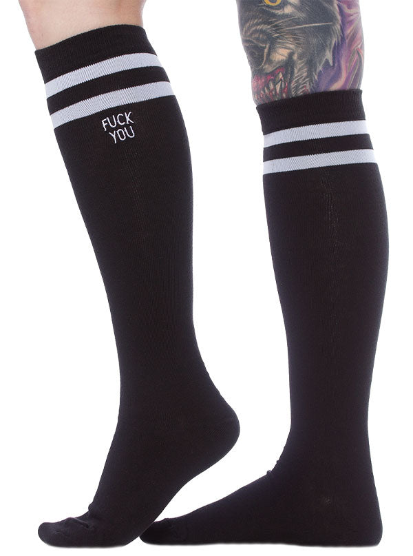 F*ck You Tube Socks by Sourpuss