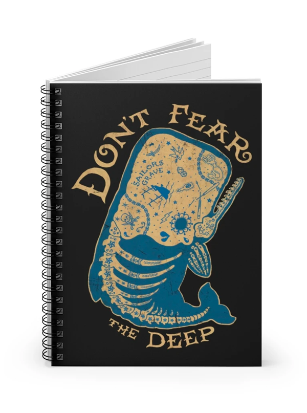 Don't Fear the Deep Notebook by Trixie & Milo