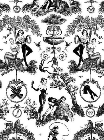 """Fetish Al Fresco"" Duvet Cover by Sin In Linen - www.inkedshop.com"