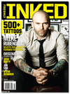Freshly Inked Magazine Vol. 3, Issue 3 Featuring Mike Rubendall - www.inkedshop.com