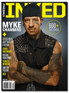 Freshly Inked Magazine Vol. 4, Issue 1 Featuring Myke Chambers - www.inkedshop.com