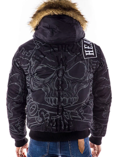 Men's Fight With Fire Winter Coat by Headrush Brand