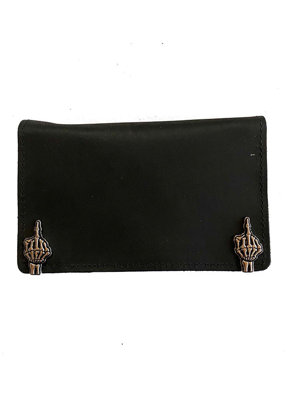"Number One 6"" Leather Wallet by Gypsy Treasures"