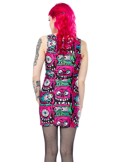 Women's Fink Tank Dress by Sourpuss