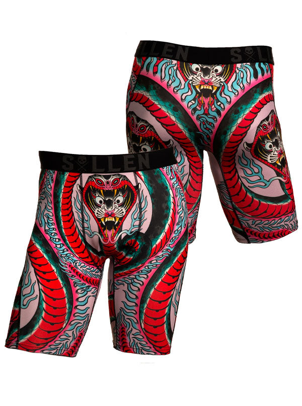 Men's Ring of Fire Boxers by Sullen