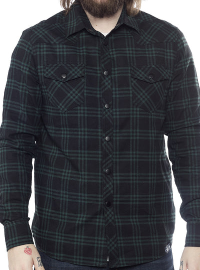 Men's Western Button Down by Kustom Kreeps