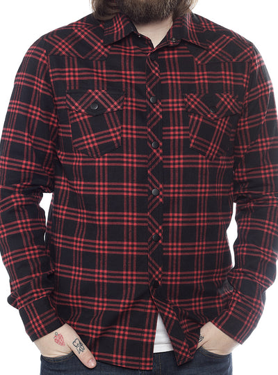 "Men's ""Western"" Button Down by Kustom Kreeps (More Options)"
