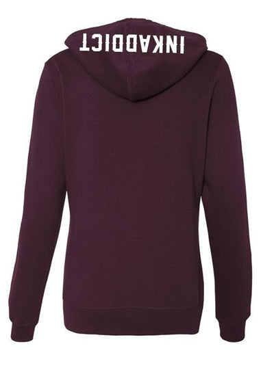 Women's Expensive Skin Flash Hoodie by InkAddict