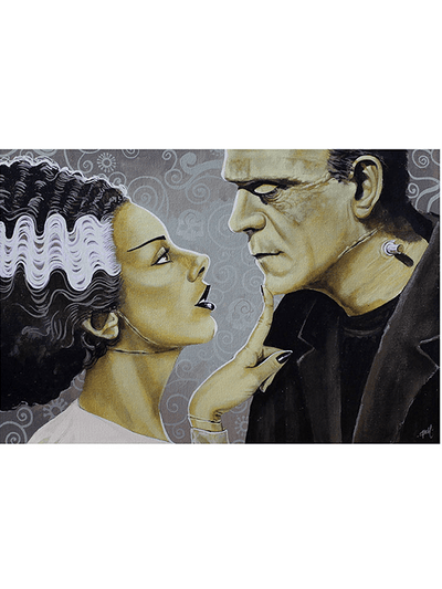 """Flirtationship"" Print by Mike Bell for Lowbrow Art Company - www.inkedshop.com"