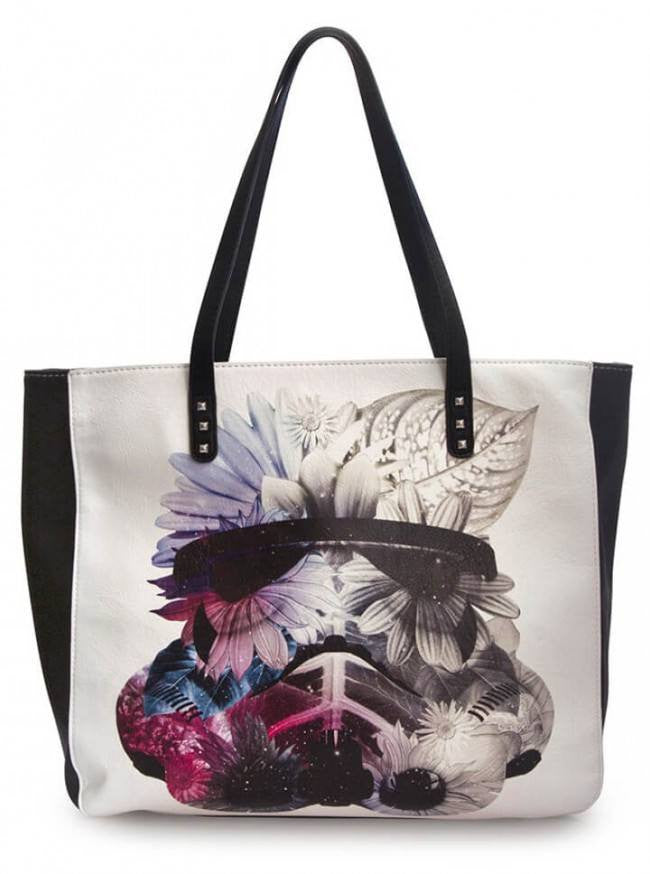 U0026quot;Star Wars Floral Stormtrooperu0026quot; Tote Loungefly | Inked Shop